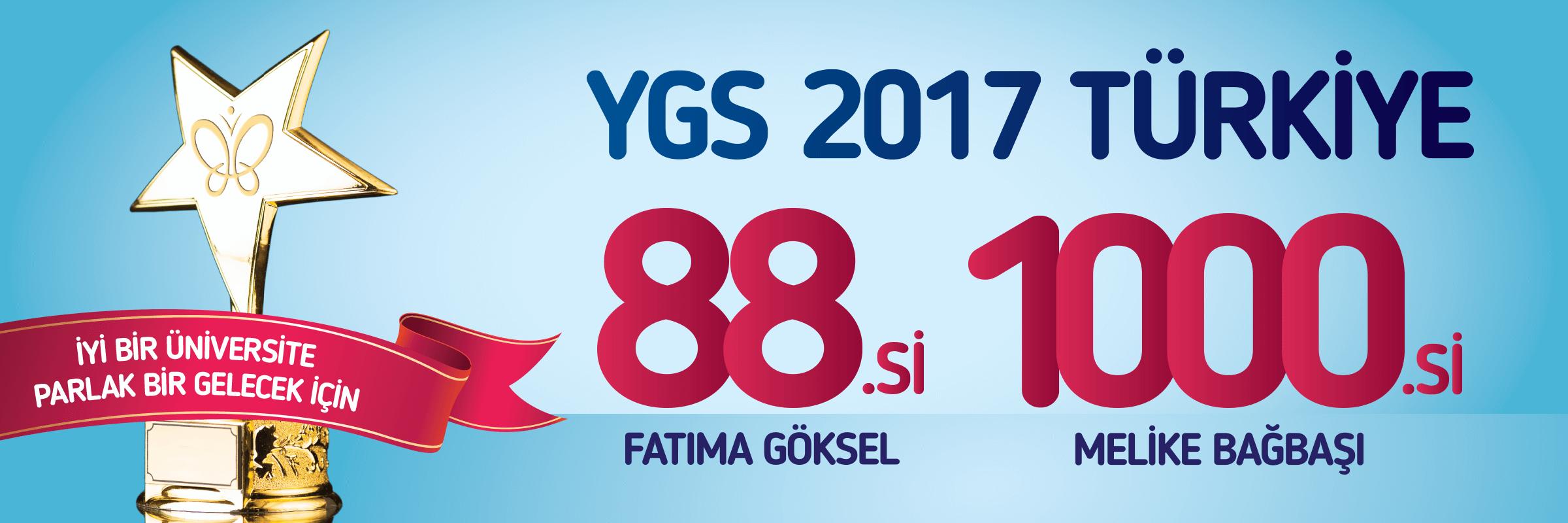 Meltem Koleji YGS Başarısı 2017