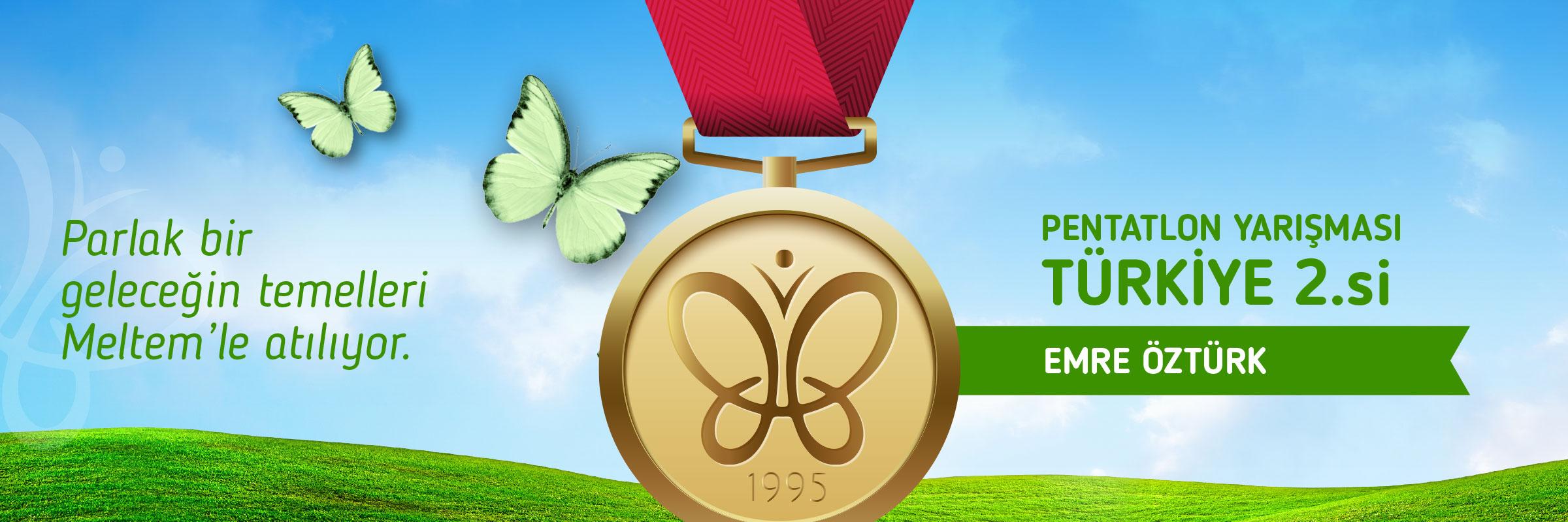 Meltem Koleji Pentatlon Yarışması Türkiye 2.si