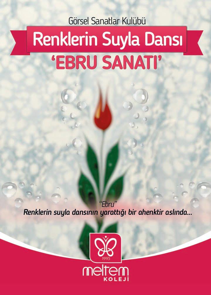 RENKLERİN SUYLA DANSI 'EBRU SANATI'