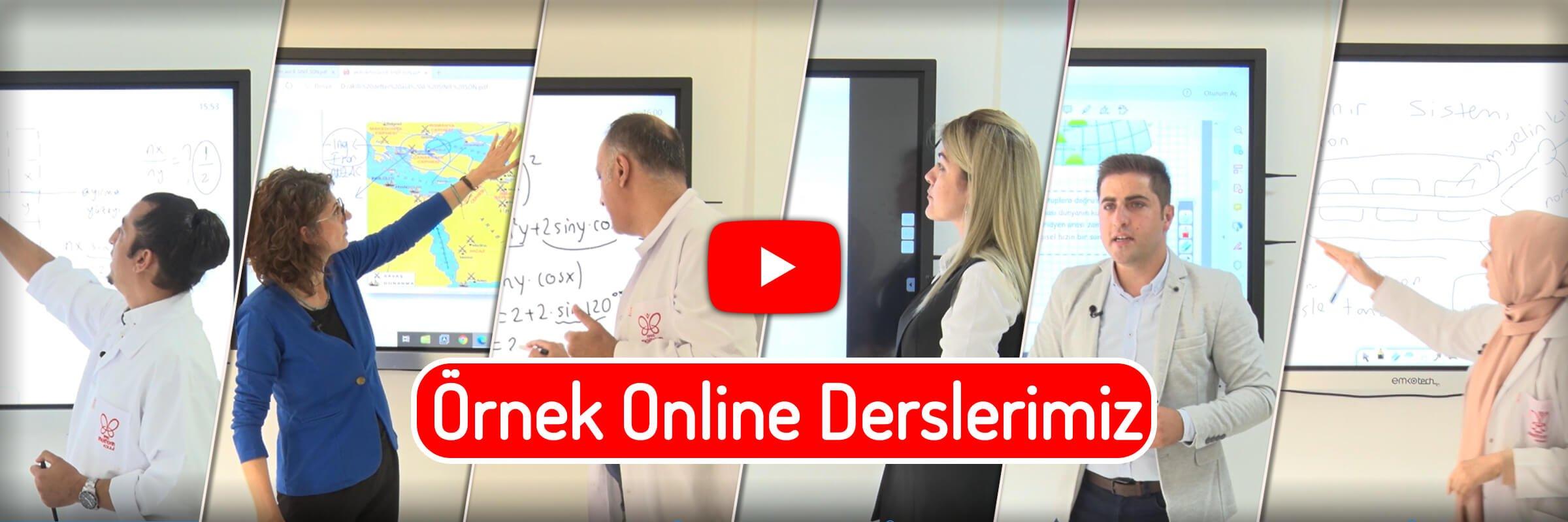 Online Derslerimiz